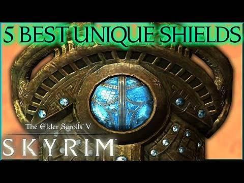 5 BEST UNIQUE SHIELDS (+LOCATIONS) in TESV: Skyrim - Caedo's Countdowns
