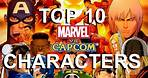 Top 10 Overpowered Marvel vs Capcom Characters!