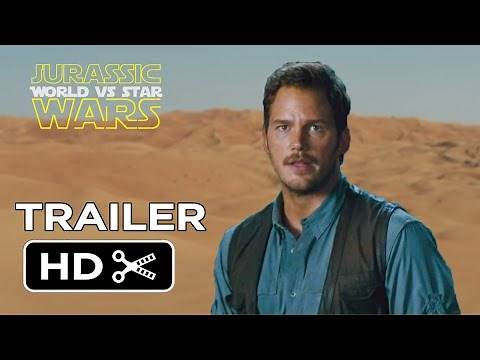 Star Wars: The Force Awakens VS Jurassic World Official Trailer Teaser -HD