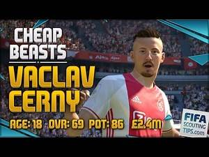 FIFA 17 CHEAP BEASTS: VACLAV CERNY - BEST CHEAP HIGH POTENTIAL PLAYERS