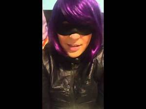 8 bit bakeshop Contestant Just Jen as Hit Girl of Kickass!