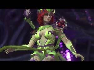 Injustice 2 Poison Ivy Vs Swamp Thing Boss Augur Management Planting Seeds Multiverse Planet Lv 15
