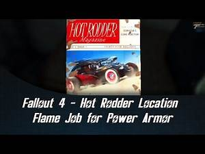 Fallout 4 Hot Rodder Location Flame Job for Power Armor