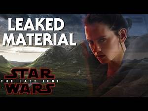 Star Wars Episode 8 The Last Jedi Leaked Material Luke Skywalker's Planet