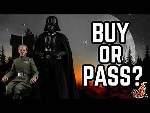 BUY or PASS? Hot Toys STAR WARS A New Hope Grand Moff Tarkin and Darth Vader 1/6 Scale Set