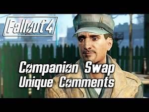 Fallout 4 - Companion Swap Unique Comments (MacCready)