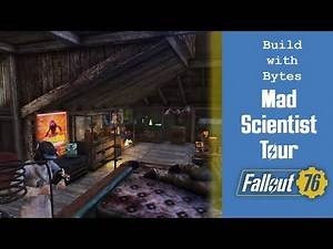 Fallout 76 - CAMP Build - The Mad Scientist