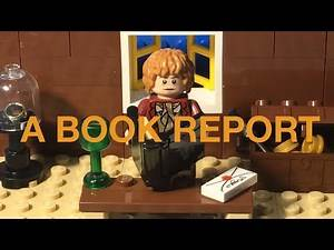 LEGO The Hobbit or There and Back Again: A Book Report