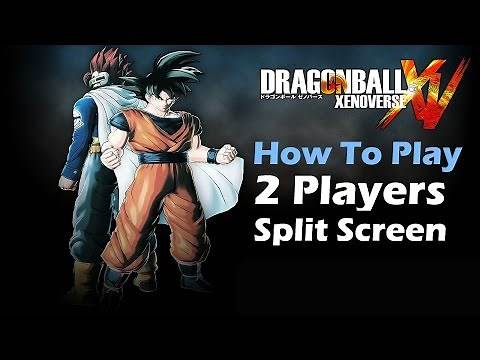 Dragon Ball Xenoverse - How To Play 2 Player Local Offline Split Screen