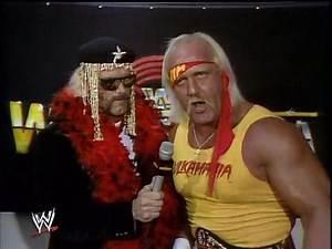 WWF Wrestlemania II - Hulk Hogan Interview