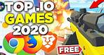 the TOP Browser / IO Games You MUST Play in 2020 (NO DOWNLOAD)