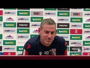 Rory Delap: We're in a relegation battle