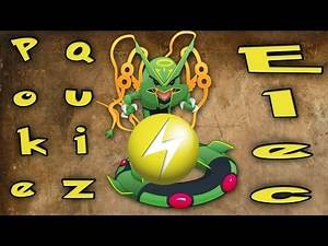 Pokemon Type Quizzes with Chaos - Electric