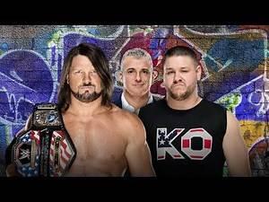AJ Styles vs Kevin Owens Promo   WWE Summerslam 2017