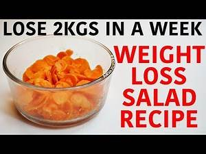 Weight Loss Salad Recipes | Easy Weight Loss Salad Recipes (Thyroid) | Salad For Weight Loss Indian
