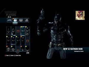 Batman: Arkham Knight DLC - 1989 Burton Skin Gameplay