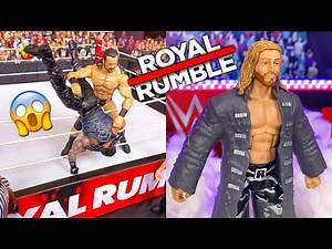 WWE ROYAL RUMBLE 2020 REVIEW/RESULTS! EDGE RETURNS! MCINTYRE WINS! WWE ACTION FIGURE SET-UP!