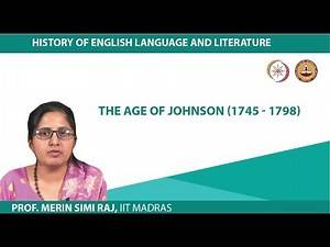 The Age of Johnson (1745 - 1798)
