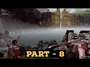 GOD OF WAR Walkthrough Gameplay Part 8 - Stone Falls & Lake Spirit (God of War 4)