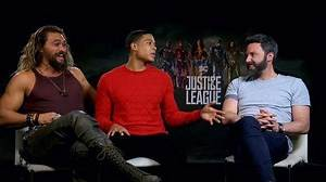 """""""Justice League"""" Cast Play 'Most Likely To' Game"""