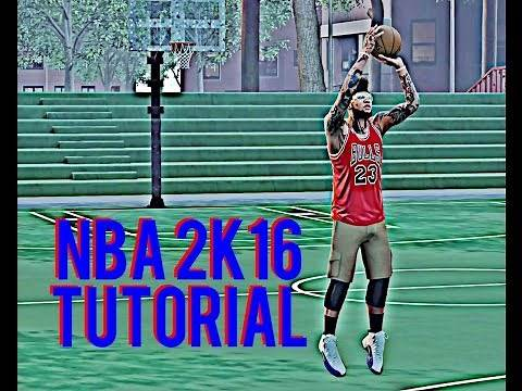NBA 2K16 - How to use a Created Player in Blacktop (Tutorial and Gameplay)