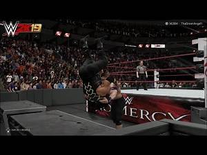 WWE 2K19 - John Cena vs. Roman Reigns   No Mercy (2017)