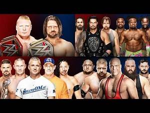 WWE Survivor Series 2017 Full Match Card Predictions!