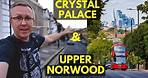 Best LONDON SKYLINE views from CRYSTAL PALACE and UPPER NORWOOD