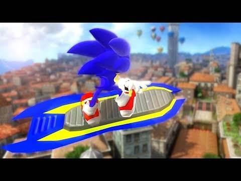 This isn't Sonic Riders