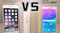 iPhone 6 Plus VS Samsung Galaxy Note 4 - Ultimate Full Comparison