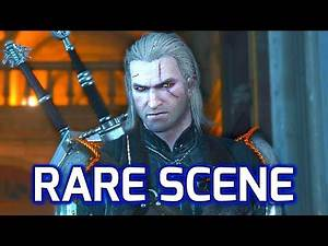 Witcher 3 [Rare Scene]: Geralt Shamefully Kicked Out of the Bank