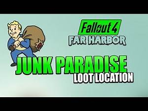 Fallout 4: Far Harbor | New Loot Location (Secret Shed filled with Junk and Ammo) Best Loot