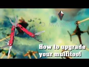 How to upgrade/ get new Tech on your multitool - No Mans Sky