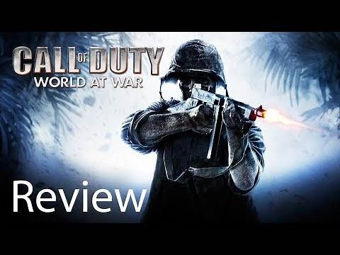 Call of Duty World at War Xbox One X Gameplay Review