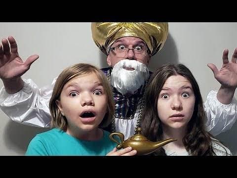 We Found Aladdin's Lamp!