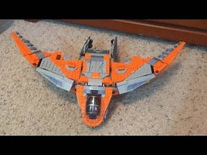 Lego Avengers Endgame Wave 2 The Benatar Custom Set Review