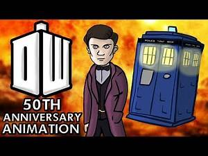 Doctor Who 50th Anniversary Animation