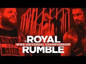 WWE Royal Rumble Promo 2017 - Roman Reigns vs Kevin Owens