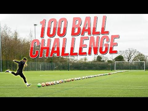 IMPOSSIBLE 100 BALL CHALLENGE!