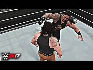 WWE 2K17 - Roman Reigns vs Braun Strowman (PS4/XBOX ONE)