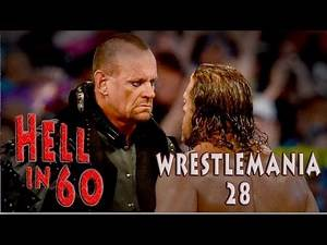 60 Seconds in Hell - The Undertaker vs. Triple H - WrestleMania 28