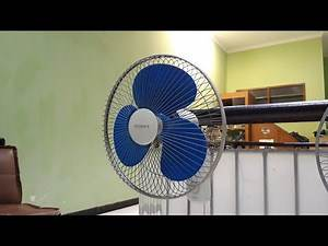 "Early-Mid 2000's Regency 16"" Oscillating Wall Fan"
