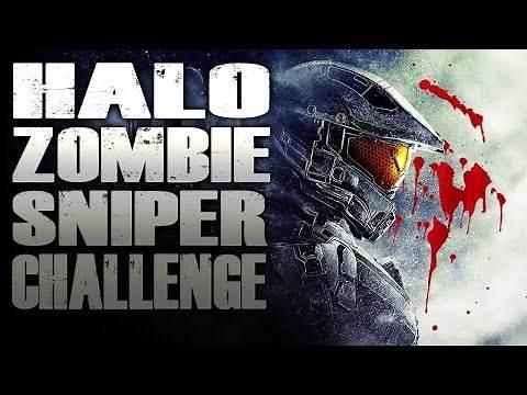 HALO ZOMBIE SNIPER CHALLENGE (Call of Duty Custom Zombies Mod)