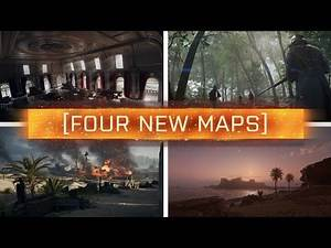 ► 4 NEW MAPS REVEALED! - Battlefield 1