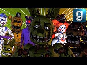 Gmod FNAF | The Afton Family [Part 6]