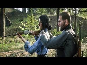 Red Dead Redemption 2 - Teaching Charlotte How To Shoot RDR2