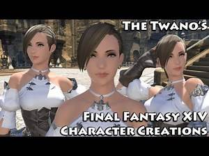 Final Fantasy XIV - Character Creation (Cute Female Hyur) #8