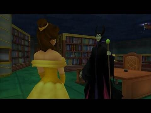 Kingdom Hearts Re: Chain of Memories - Hollow Bastion, Boss: Maleficent