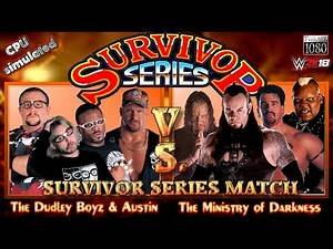 WWE2K SURVIVOR SERIES: Dudley Boyz & Steve Austin VS. The Ministry of Darkness [incl. Mods]