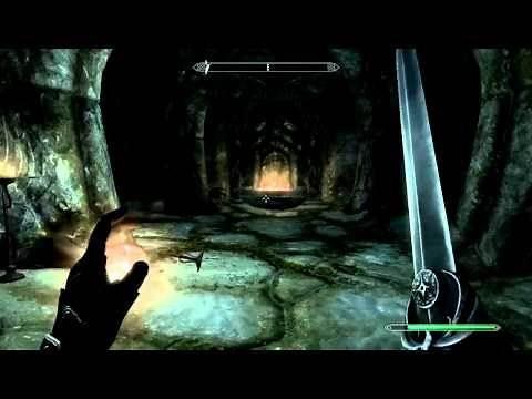 Skyrim Walkthrough: Ep. 33 Ironbind Barrow (Spirit, Become Ethereal)